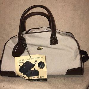 Diane vonFurstenberg Satchel weekender Bag